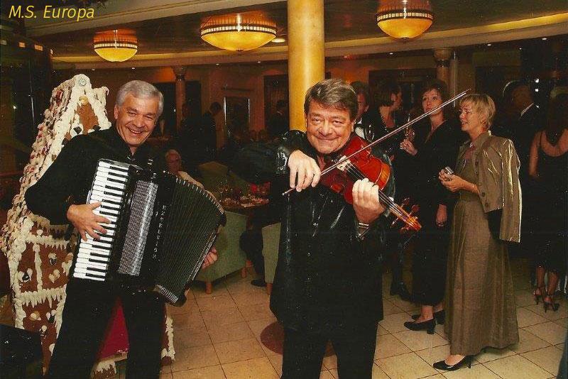Violine auf der M.S. Europa