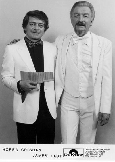 Horea Crishan und James Last